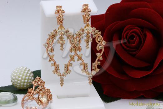 Комплект в золоте QSY CN10227
