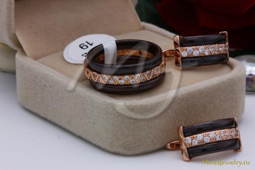 Комплект коричневый CNS10410 опт 800 руб