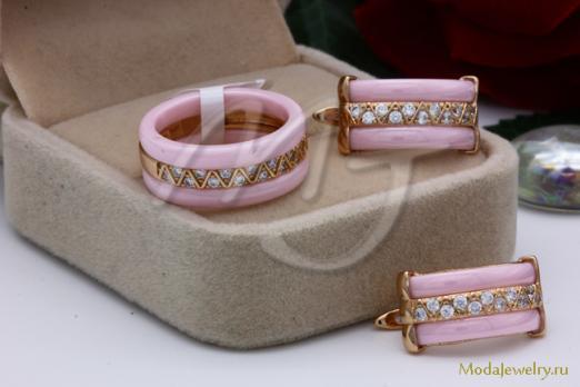 Комплект розовый CNS10414