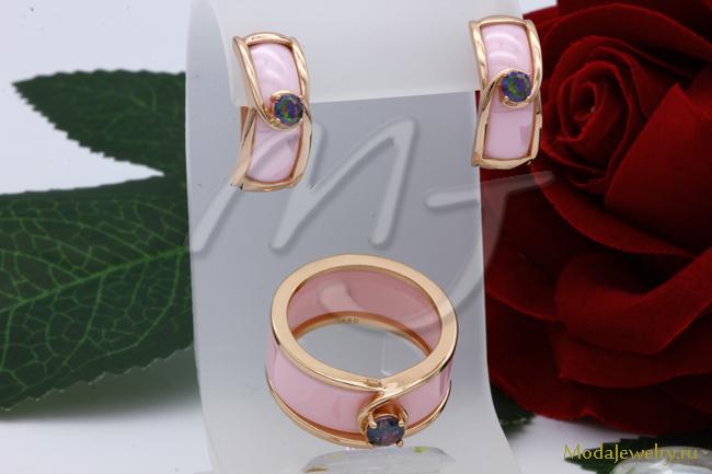 Комплект розовый CNS10420