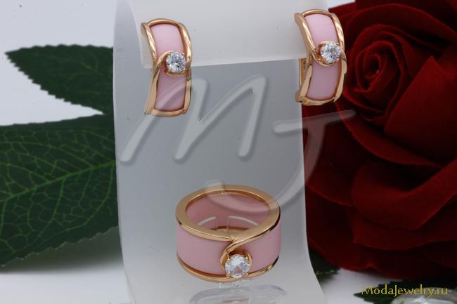 Комплект розовый CNS10426 опт 950 руб