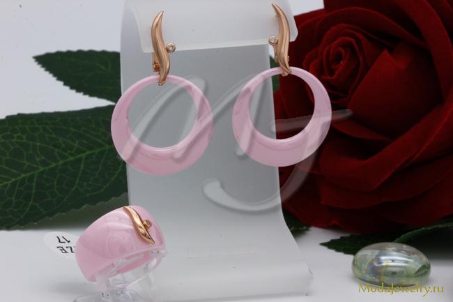 Комплект розовый CNS10428
