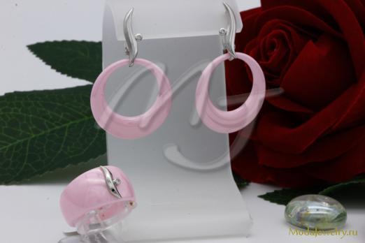 Комплект розовый CNS10428 опт 930 руб