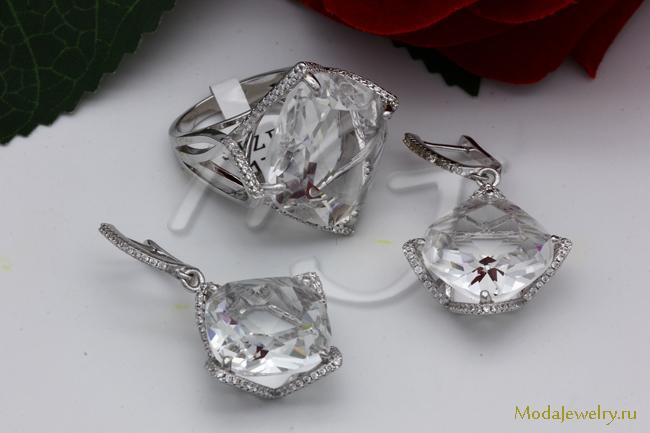 Комплект в серебре QSY CN11111 опт 900 руб