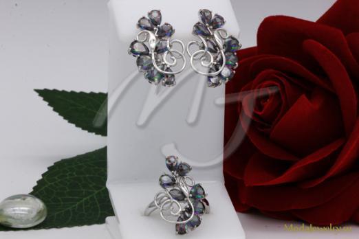 Комплект в серебре QSY CNSN11166