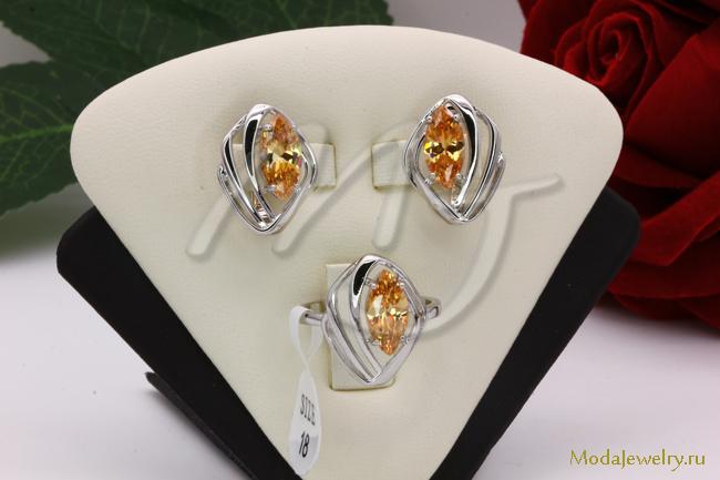 Комплект в серебре QSY CNS12288