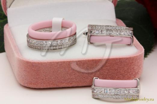 Комплект розовый QSY CNS12507
