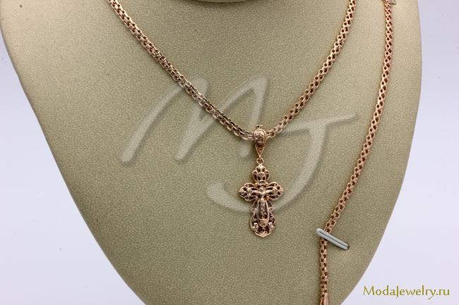 Набор цепочка+браслет+крестик  Fallon CNL13813
