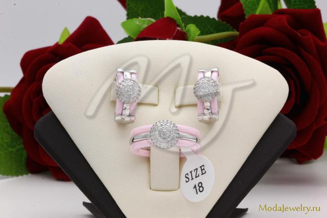 Комплект розовый QSY CNS14059
