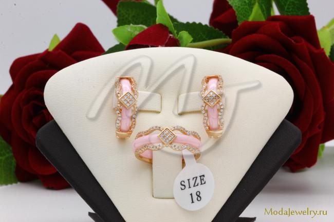 Комплект розовый QSY CNS14065