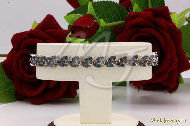 Браслет в серебре QSY CNS14438
