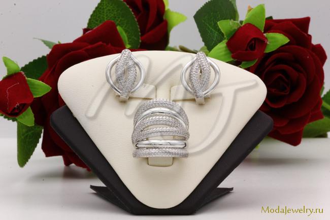 Комплект в серебре QSY CNS14836