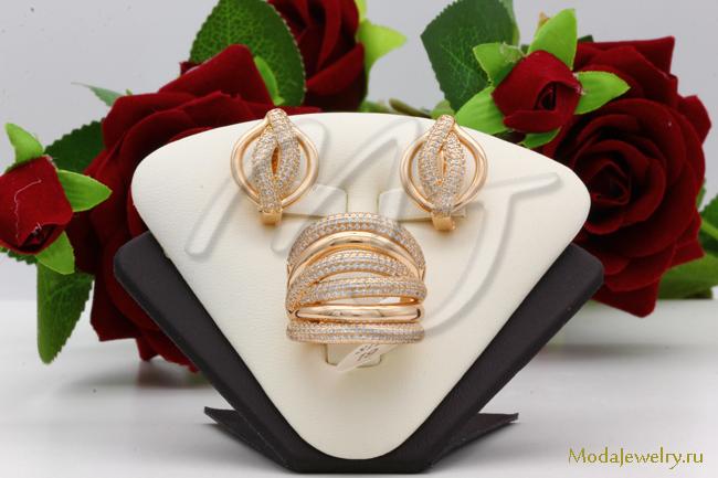 Комплект в золоте QSY CNS14837