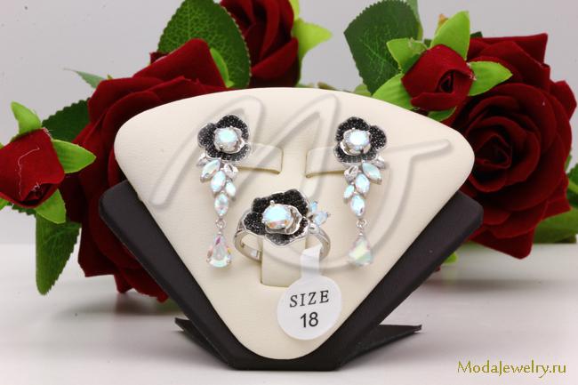 Комплект в серебре QSY CNS14839