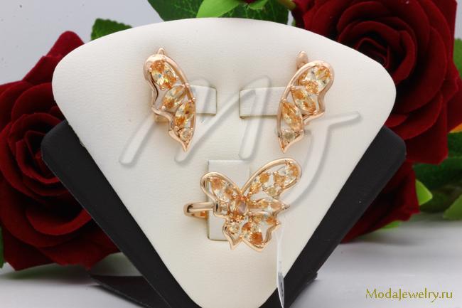 Комплект в золоте QSY CNS14918