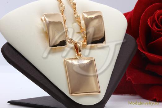 Комплект пластины под золото CN15053 опт 500 руб