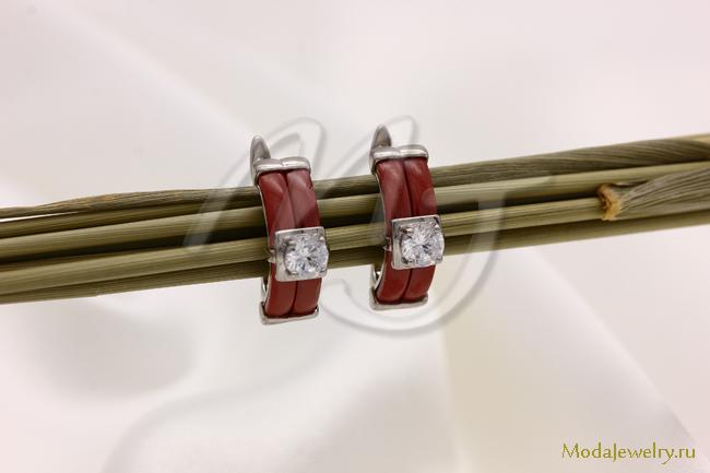 Серьги из керамики CN16675 опт 720 руб
