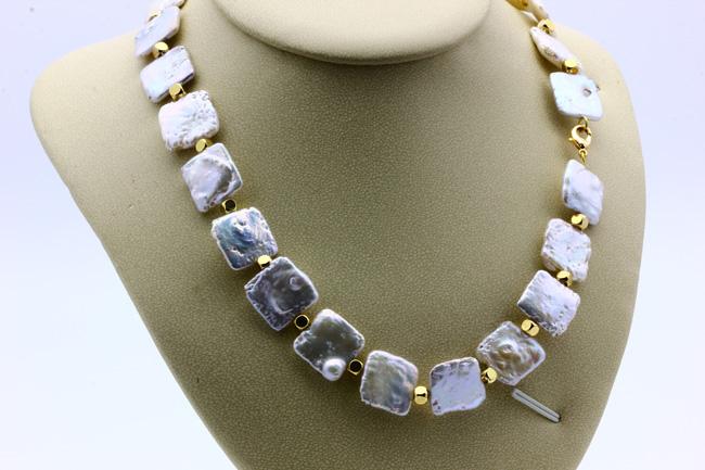 Ожерелье жемчуг барочный CN7068 опт 1800руб