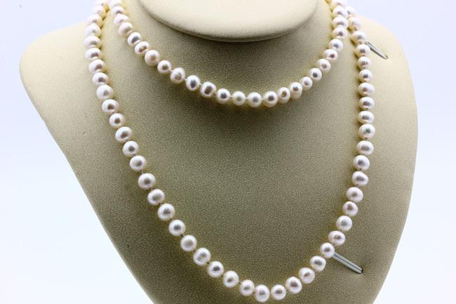 Ожерелье из жемчуга CN7075 опт 900руб