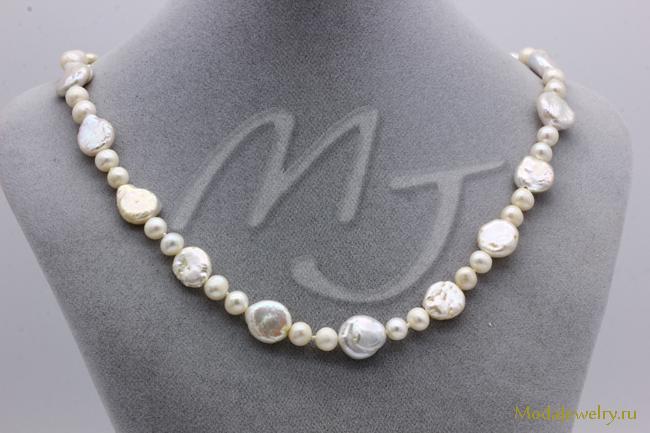 Ожерелье Барочный Жемчуг CN7941 опт 1050 руб