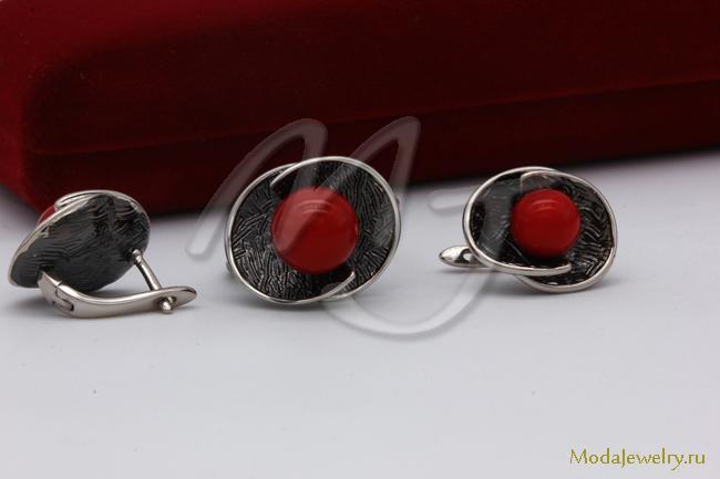 Комплект в серебре QSY CNS9995 опт 800 руб